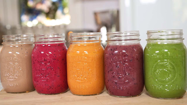 SMOOTHIES - FRUTAS  Y VEGETALES