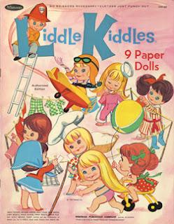 Liddle Kiddles Printable Paper Dolls