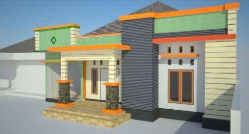 atap teras rumah minimalis rancangan desain rumah minimalis