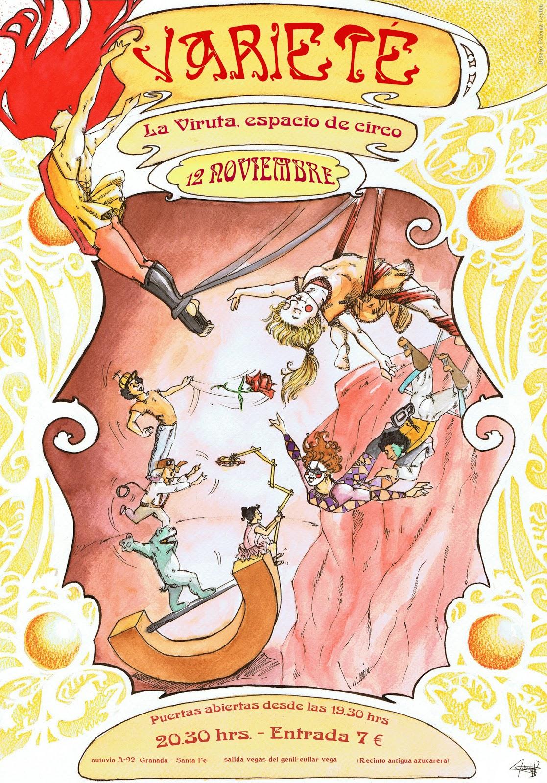 Levoldelacolombe cartel para variet del espacio de - La antigua viruta ...