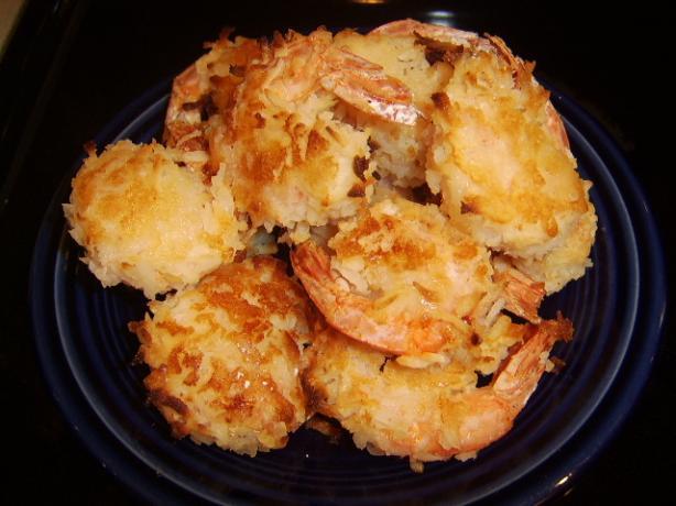 Julie's Cafe: Baked Coconut Shrimp