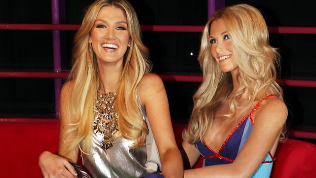 Delta Goodrem in wax is a lifelike mirror image