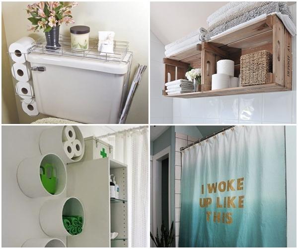 Decoração criativa para banheiro  Fotografia e Lifestyle -> Decoracao Banheiro Diy