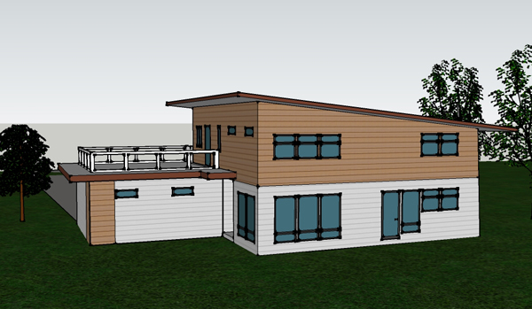 Modern house design at clemdesign a new modern icf home for Icf house kits