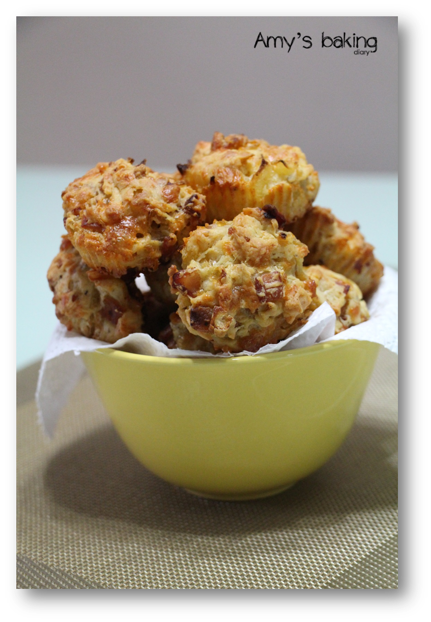 Amy Baking Diary: Bacon Onion Cheddar Biscuits (Ree ...
