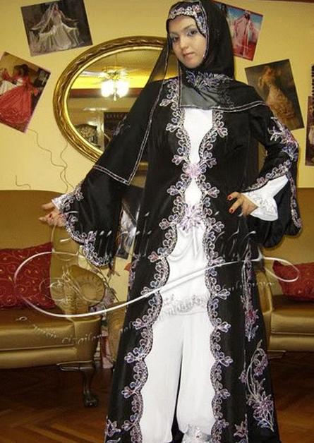 Desain Model Baju Muslim Hijab Turki Terbaru Trend 2015