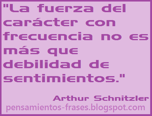 frases de Arthur Schnitzler
