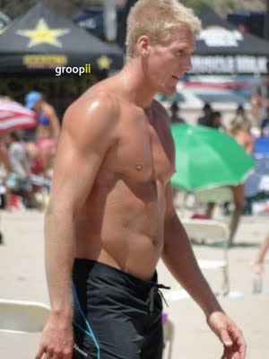 Ben Diggins Shirtless at the NVL Malibu 2011