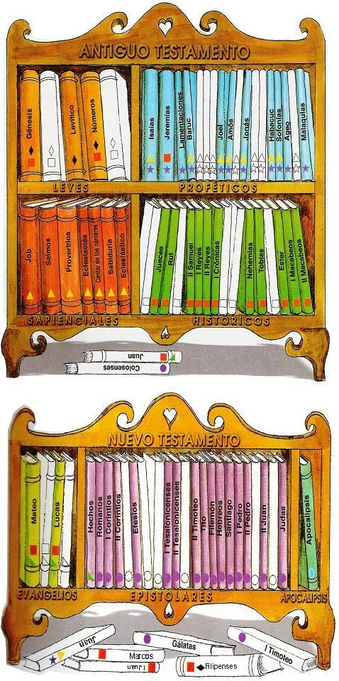 libros de la biblia latinoamericana: