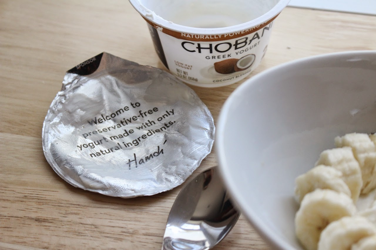 Chobani Greek Yogurt Breakfast Bowl