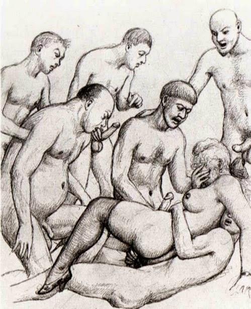 Галерея порнографических рисунков