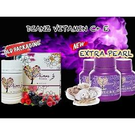 DIANZ VITAMIN C & E + EXTRA PEARL
