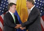 Presidentes Santos & Obama