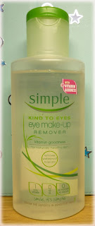 Simple Kind To Eyes Eye Make-Up Remover