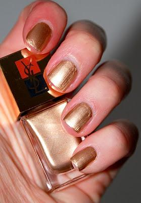 YSL duo griffe dorée manucure couture swatch test avis
