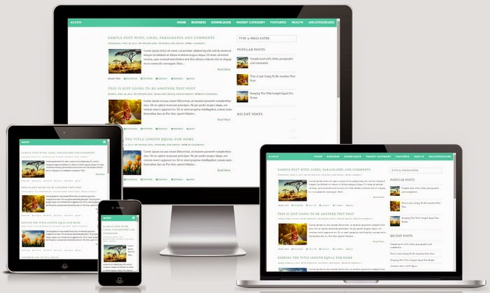 Free Download Alexis Blogger Template Responsive News,Blog,Magazine