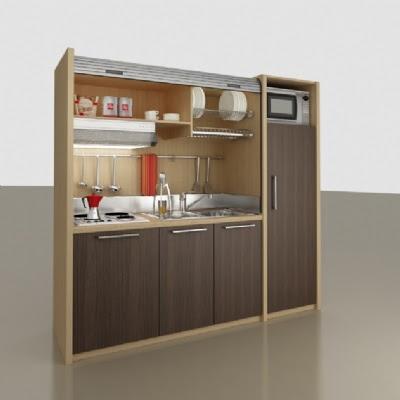 Kitchenette o Mini Cocina para Pequeñas Viviendas