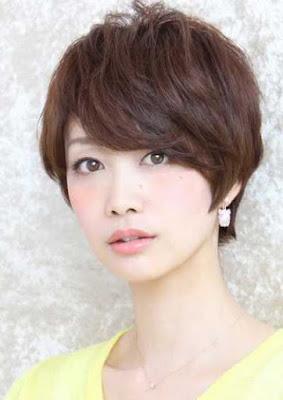potongan rambut pixie wanita asia 2016_21479800