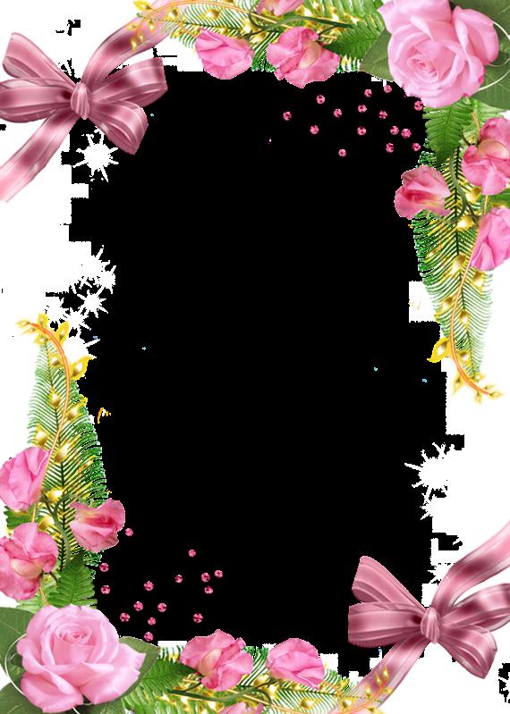 Цветы рамки поздравления с