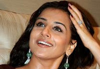 Bollywood beauty Vidya Balan