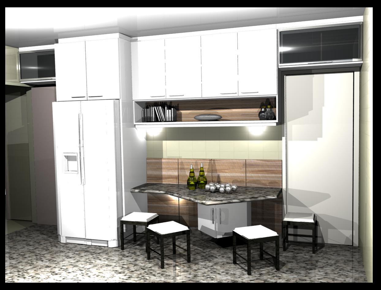 cozinha planejadas pequenas decorada americana modulada luxo moderna   #7E664D 1244 947