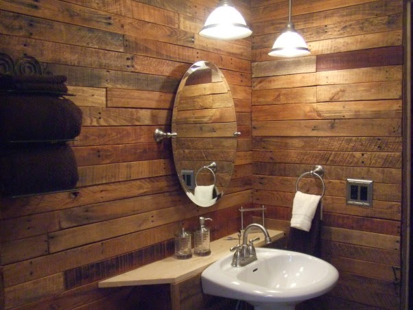 10 grandes ideas para decorar con - Como forrar una pared con madera ...