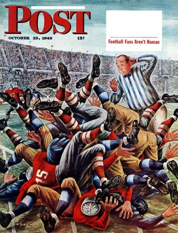 Saturday Evening Post football