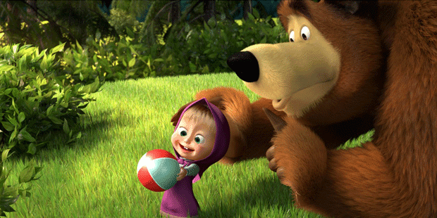 Gambar Marsha and the Bear Lucu Terbaru