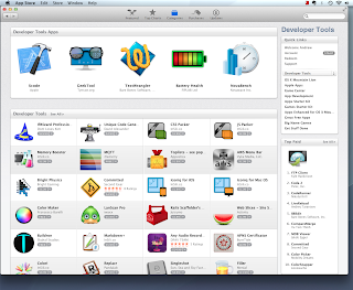 Mac App Store Developer Tools