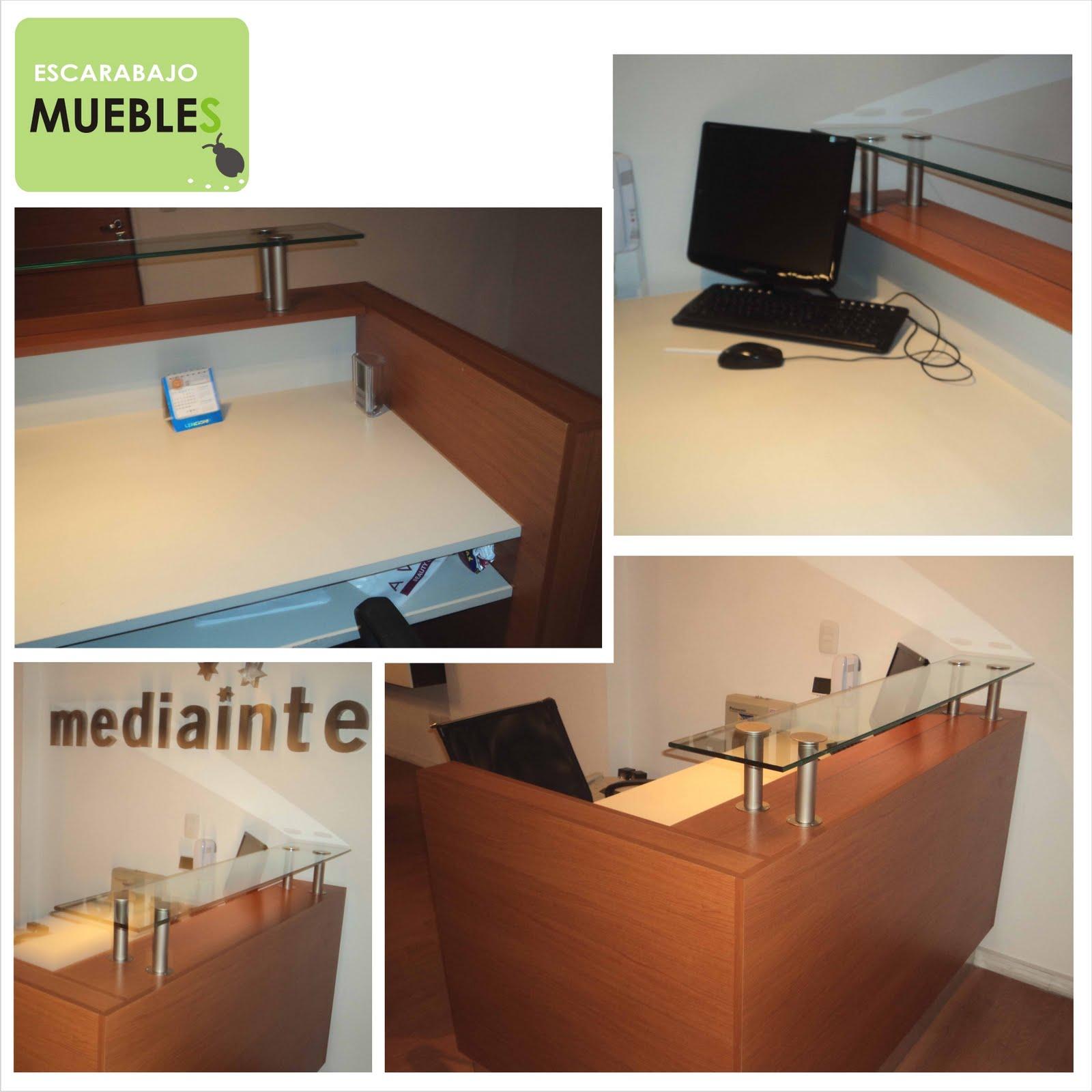 Muebles de recepci n escarabajo pop for Muebles de recepcion