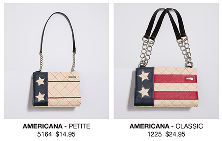Miche Americana Petite Shell and Americana Classic Shell - Red, White and Blue Stars and Stripes - LIMITED EDITIONS!