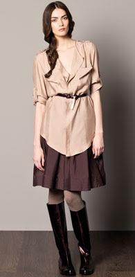 Caramelo faldas otoño invierno 2012 2013