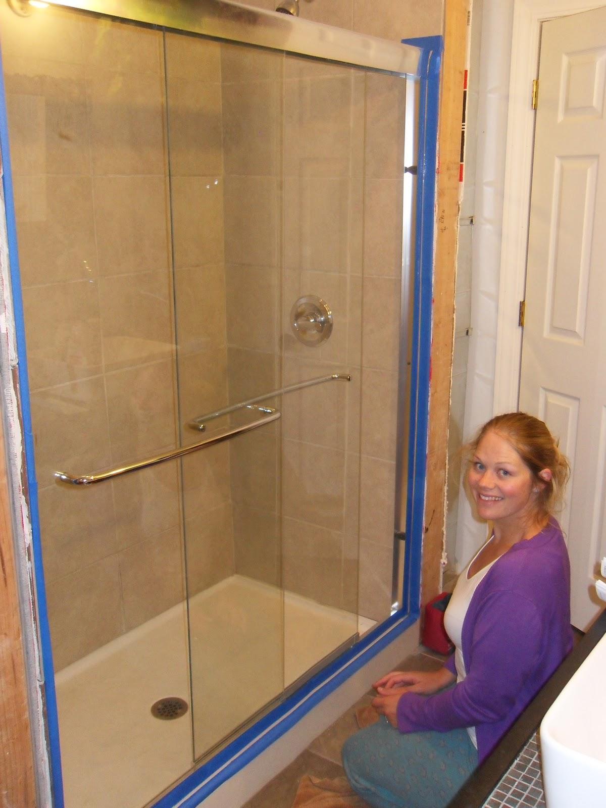 the minturn project shower door and ikea adventure