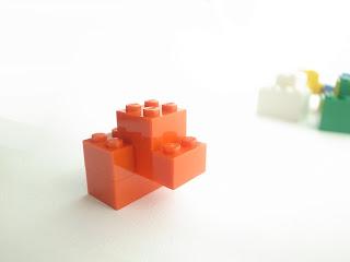 レゴ作品 レゴゴリラ赤