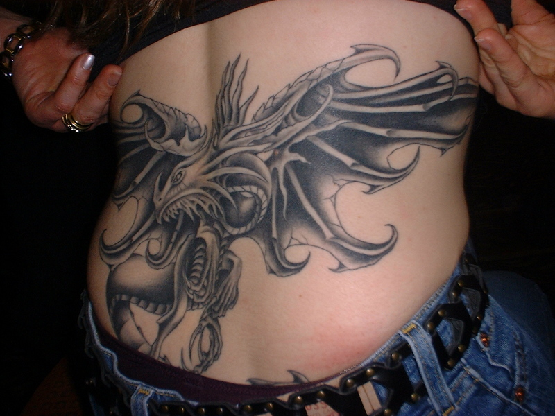 graffiti bridge dragon tattoo designs for women. Black Bedroom Furniture Sets. Home Design Ideas