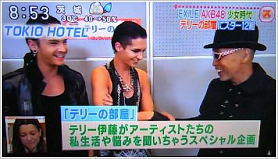 Tokio Hotel en la TV japonesa - Sukkiri [25.O6.11] 1