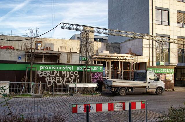 Baustelle Quartier am Pettenkofer Garten, Pettenkoferstraße 4c, 10247 Berlin, 07.01.2014
