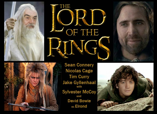 lord of the rings movie cast � jewelry