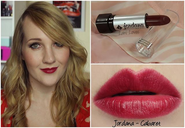 Jordana Cabaret lipstick swatch