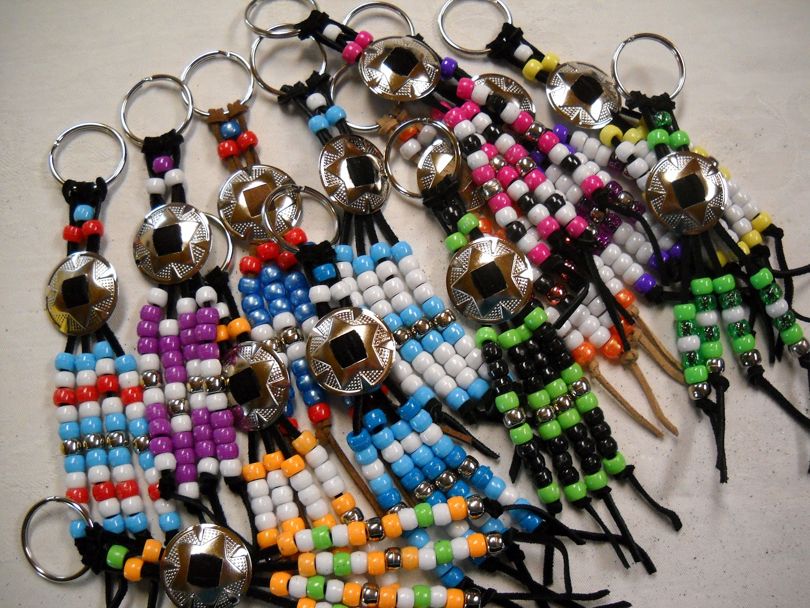 Julies creative ideas project for the week key rings for Ideas for crafts to sell