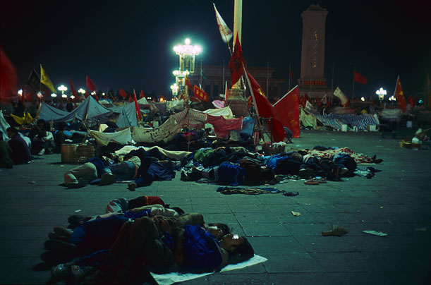the tragic story of tiananmen square massacre The chinese army storms a mass demonstration in tiananmen square, killing several hundred people.