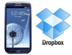 dropboc 50gb free samsung galaxy s3 iii