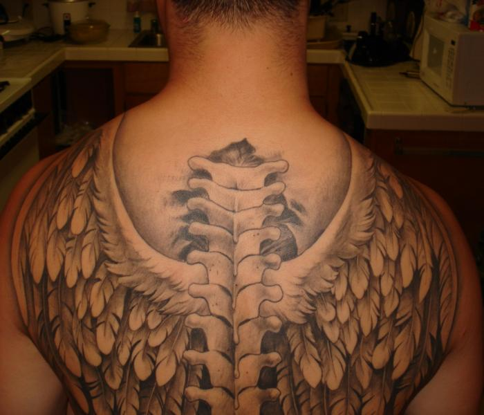 Wings tattoo for men japanese tattoos for Mens wing tattoo