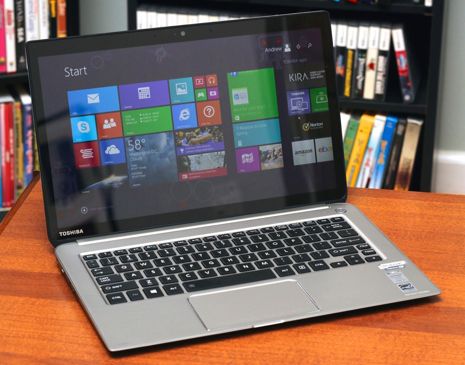 Harga Laptop Toshiba Satellite S40t-AS105 Terbaru 2014