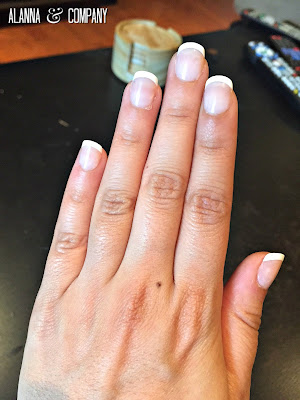 French Manicure at Home