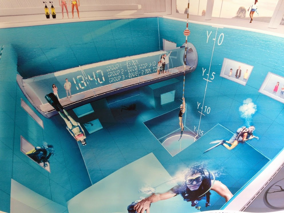 Y 40 the deep joy world 39 s deepest swimming pool info for Piscine deep joy y 40