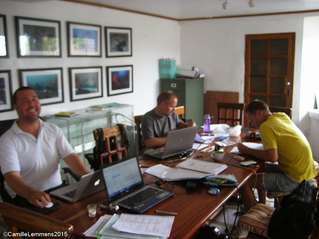 PADI IDC for March 2015 in Moalboal, Philippines has kicked off