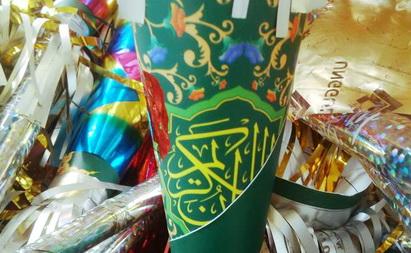 Astaghfirullah... [LAGI] Penghinaan Islam, Terompet Berbahan Sampul Alquran Dijual di Beberapa Minimarket