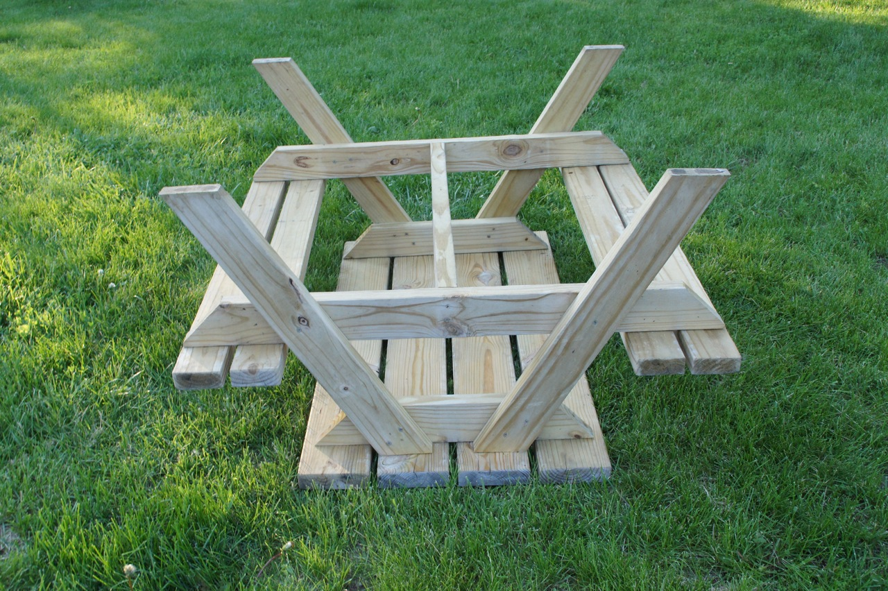 picnic table plans 2x4