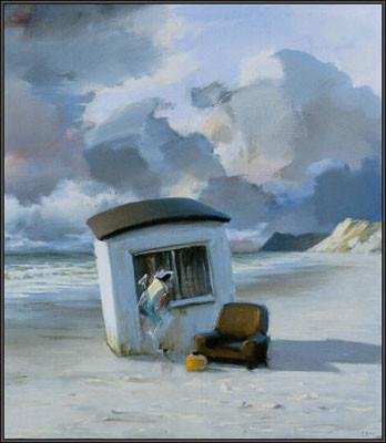 Poul Anker Bech: Efterår, 2004